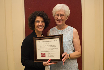 Livingston Parish Farm Bureau was recognized for outstanding achievement in the Women's Leadership Committee program by Louisiana Farm Bureau Women's Leadership Committee State Chair Denise Cannatella. Accepting the certificate is Livingston Parish Farm Bureau Women's Leadership Committee Chair Bea Kemp.