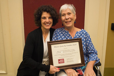 Rapides Parish Farm Bureau was recognized for outstanding achievement in the Women's Leadership Committee program by Louisiana Farm Bureau Women's Leadership Committee State Chair Denise Cannatella. Accepting the certificate is Rapides Parish Farm Bureau Women's Leadership Committee Chair Deborah Harper.