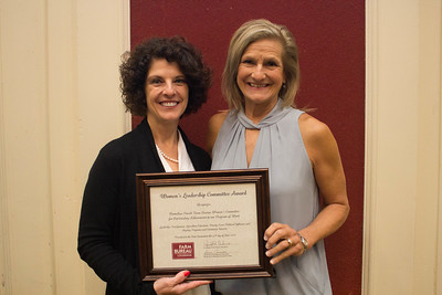 Vermilion Parish Farm Bureau was recognized for outstanding achievement in the Women's Leadership Committee program by Louisiana Farm Bureau Women's Leadership Committee State Chair Denise Cannatella. Accepting the certificate is Vermilion Parish Farm Bureau Women's Leadership Committee Chair Roslyn Simon.