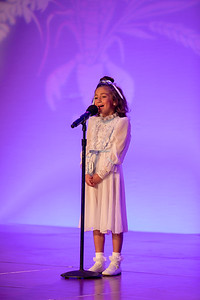 "Junior Talent Contestant Cooper KayLynn Becnel of Calcasieu performed ""A Million Dreams"""