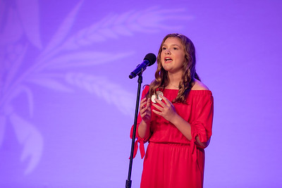 "Junior Talent Contestant Reese Fitzhugh of Tangipahoa performed ""A Million Dreams"""