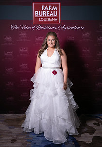Queen's Contest Contestant Catherine Rae Marchard of West Rouge Parish.