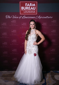 Queen's Contest Contestant Kaitlyn Claire Babin of Lafourche Parish.
