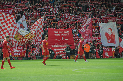 Steven Gerrard & The Kop