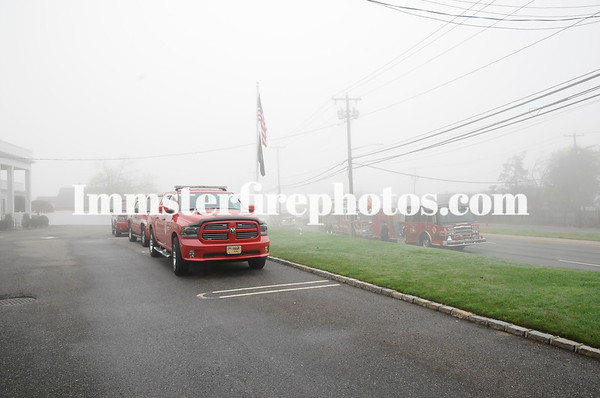 LFD HON CHIEF & EX-COMMISSIONER THOMAS CUFF FUNERAL DETAIL