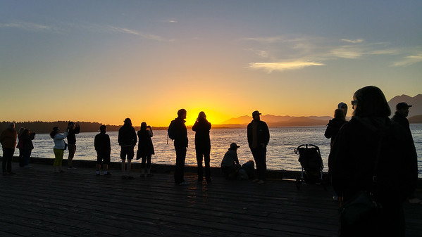 Tofino sunset   Photos from Vancouver Island and LG G4 Review