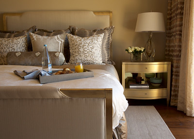 Gold Guest Bedroom