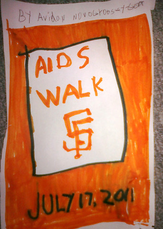 Our San Francisco AIDS Walk Jewish Community Team, organized by the San Francisco based Jewish Community Federation and Endowment Fund, raised over $3,000 this year.