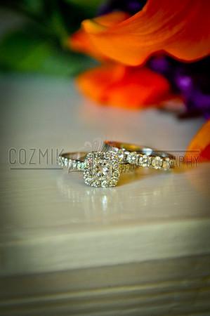 Alex & Jen April 2012 - DC Our rings