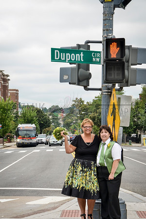 Susan & Lisa ~ 2013, Dupont Circle, DC