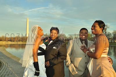 Besties Double Wedding ~ 2010, DC