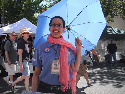 Amy Andre, Executive Director of San Francisco Pride and a self-identified Bisexual Jewish woman!