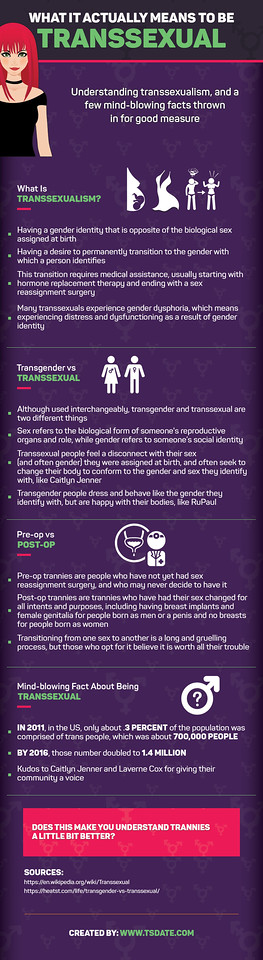 What It ACTUALLY Means To Be Transsexual