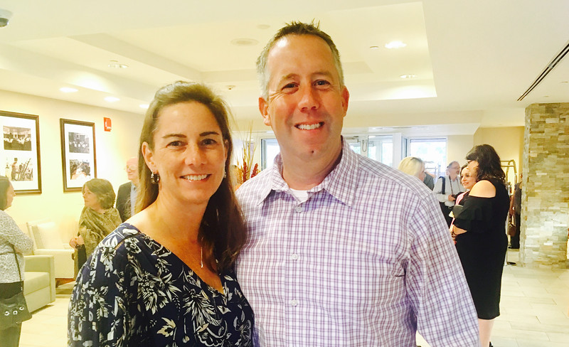 Dr. Elizabeth Dick and Chris Dick of Tewksbury