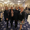 From left, Deborah Lemos of Chelmsford, special guest Susan Wornick, and Molly and Mary Bennet of Chelmsford