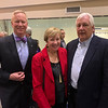 From left, LGH and Circle Health President and CEO Jody White of Tyngsboro, City Manager Eileen Donoghue and John O'Connor of Lowell