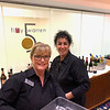 UMass Lowell Inn & Conference Center bartender beauties Patty Dokos and Angela Sarantakis, both of Lowell