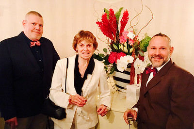 Scott and Karen Wedge and Piccirillo Designs Florist Gerald Piccirillo all of Lowell
