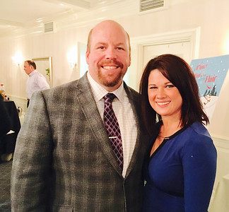 Dr. Mark Gilchrist and fiancé Stephanie Stacy of Chelmsford
