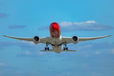 Norwegian Air UK Boeing 787-9 Dreamliner G-CKWF 9-8-19