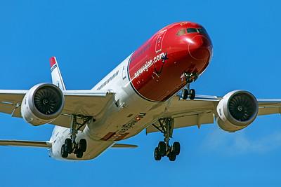Norwegian Air UK Boeing 787-9 Dreamliner G-CKWB 9-8-19 2