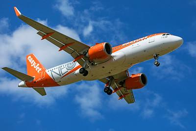 easyJet Airbus A320-251N G-UZHD 9-8-19