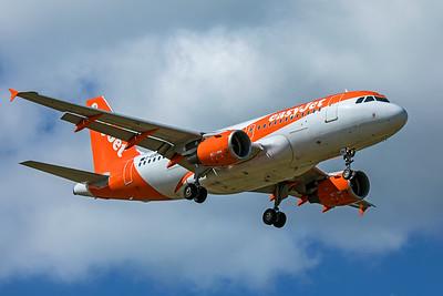 easyJet Airbus A319-111 G-EZBV 9-8-19