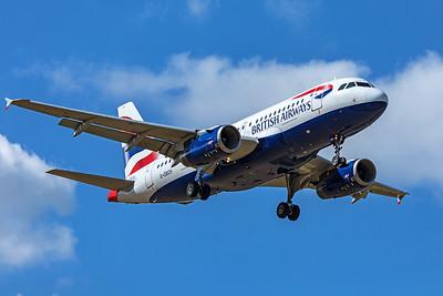 British Airways Airbus A319-131 G-DBCH 9-8-19