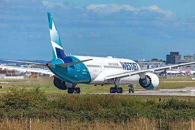 WestJet Boeing 787-9 Dreamliner C-GUDO 9-8-19