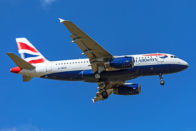 British Airways Airbus A319-131 G-DBCB 9-8-19