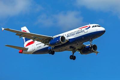 British Airways Airbus A319-131 G-DBCG 9-8-19