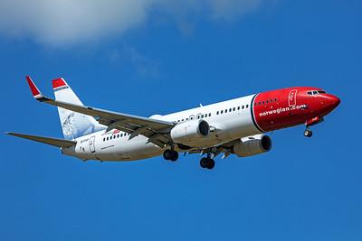 Norwegian Air International Boeing 737-8JP EI-FHP 9-8-19