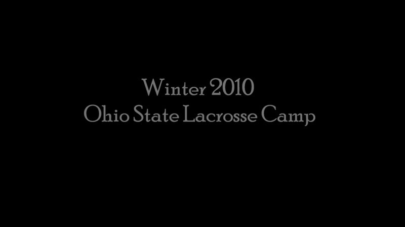 Ohio State Lacrosse Camp Winter 2010