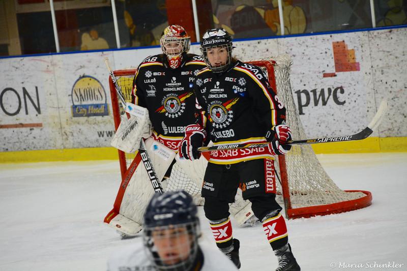 #39 Sofia Johansson #30 Sara Sundqvist