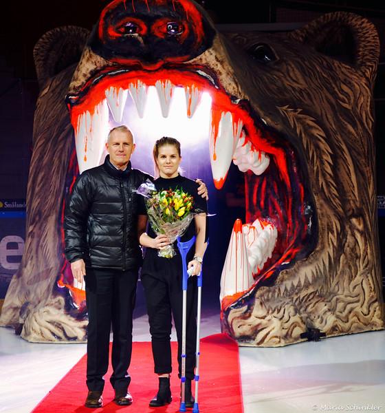 LHF VD Stefan Enbom #29 Emma Nordin