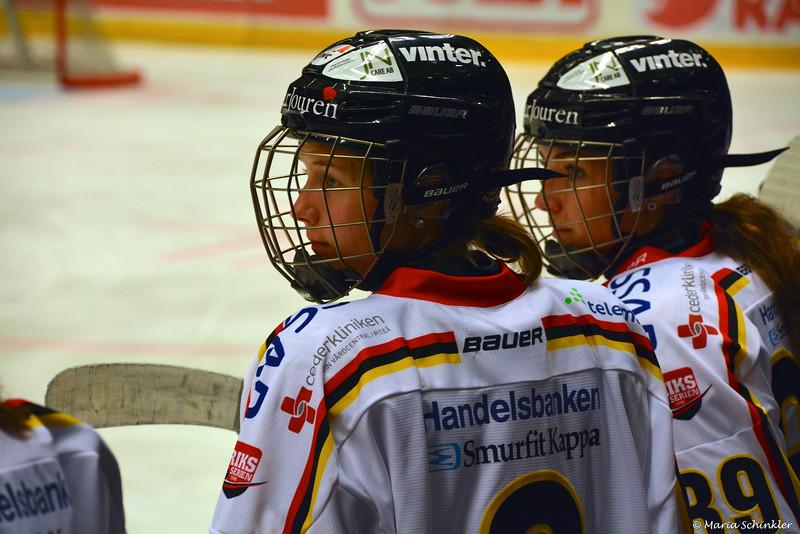 #3 Josefine Åström #39 Sofia Johansson