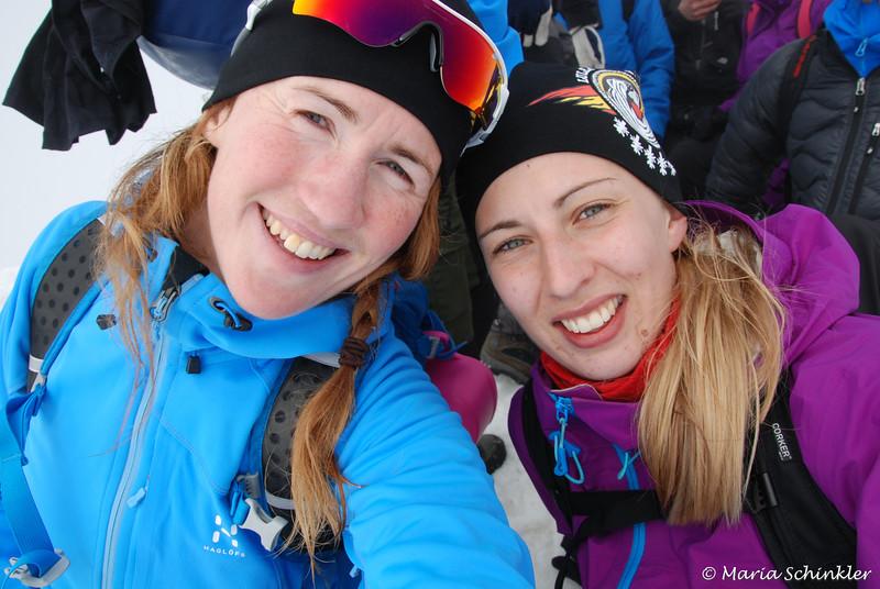 Maria Schinkler och #23 Lisa Ekberg