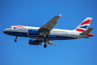 British Airways Airbus A319-131 G-EUPJ 7-2-17