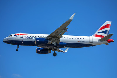 British Airways Airbus A320-232 G-EUYT 7-2-17