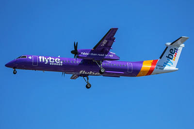 Flybe Bombardier DHC-8-402 G-JEDV 7-2-17