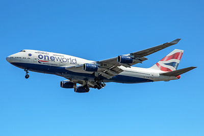 British Airways Boeing 747-436 G-CIVZ 7-2-17