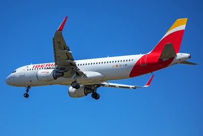Iberia Airbus A320-216 EC-LVD 7-2-17