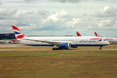 British Airways Boeing 787-9 G-ZBKE 7-3-17