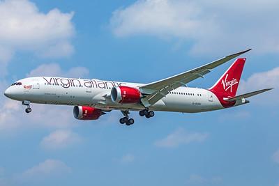 Virgin Atlantic Airways Boeing 787-9 G-VCRU 5-8-18