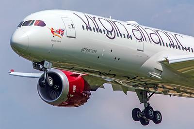 Virgin Atlantic Airways Boeing 787-9 G-VNYL 5-8-18