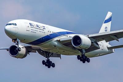 El Al Israel Airlines Boeing 777-258(ER) 4X-ECD 5-8-18