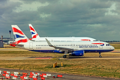 British Airways Airbus A320-232 G-EUYR 9-10-18