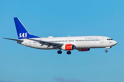 SAS Scandinavian Airlines Boeing 737-883 LN-RRS 10-29-18