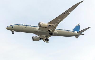 El Al Israel Airlines Boeing 787-9 Dreamliner 4X-EDF 12-16-18