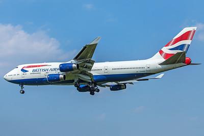 British Airways Boeing 747-436 G-BYGG 5-8-18